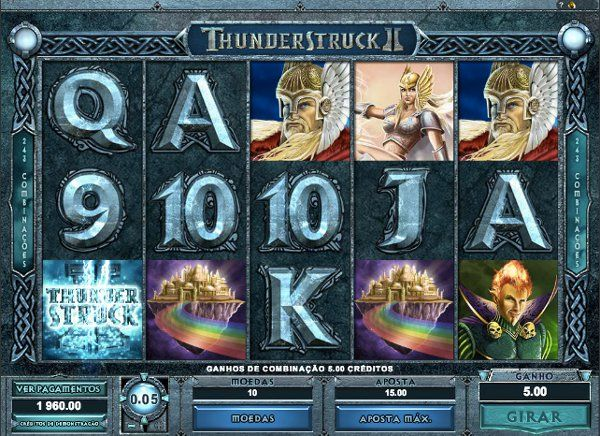 Thunderstruck 2 #slotmachine #slot
