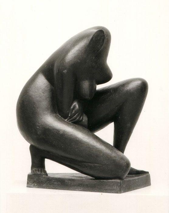 Marcello Mascherini, Bagnante – Frammento (1952), Bayerische Staatsgemäldesammlungen, Munich