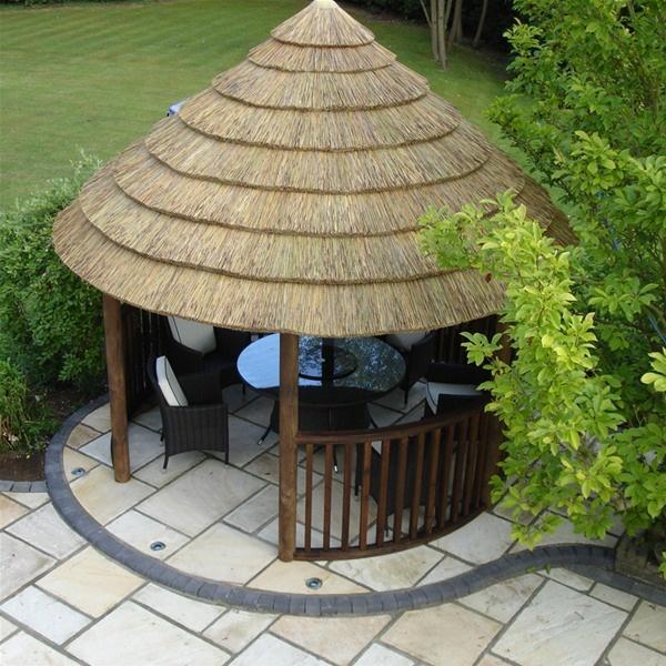 2.8m Premium Round Thatched Garden Gazebo | Garden Gazebo, Rounding And  Gardens