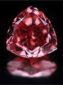 The Rare Moussaieff Red Diamond