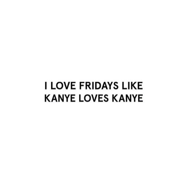 Can't beat Fridays // #words