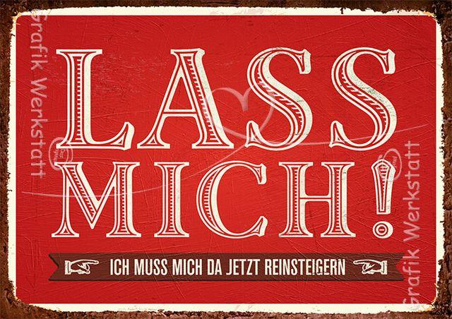 Lass mich! - Postkarten - Grafik Werkstatt Bielefeld