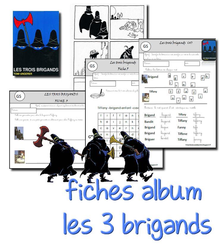 La maternelle de Laurène: Fiches albums : les trois brigands