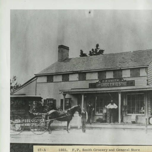 1865. F.P. Smith Grocery and General Store :: Freeport Memorial Library