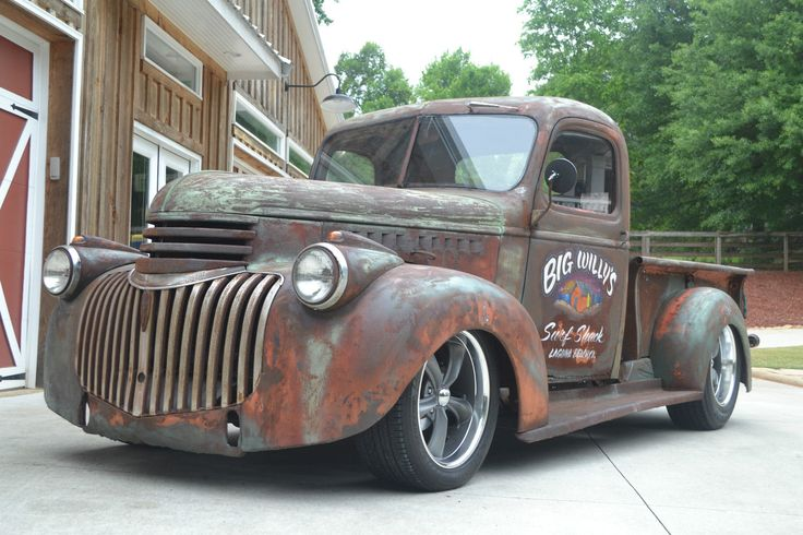1946 Chevy Truck Rat Rod. CLICK THE IMAGE or Check Out my blog for more…