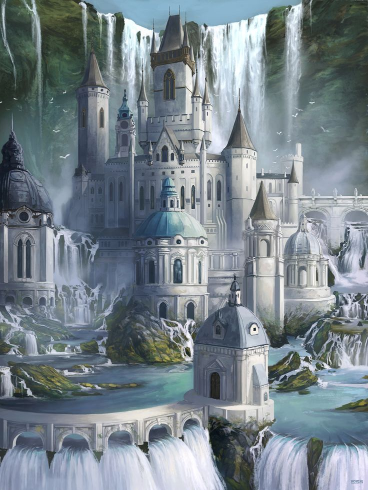 I Can See Some Of The Sea Elven Buildings Looking Like