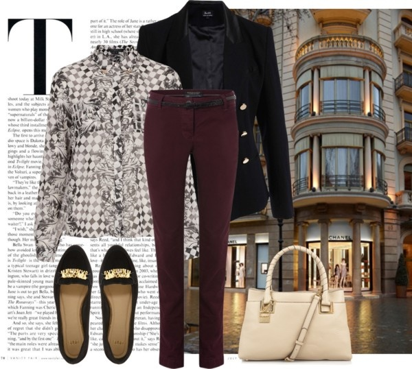"""Urban chic look."" by nataly212 ❤ liked on Polyvore"