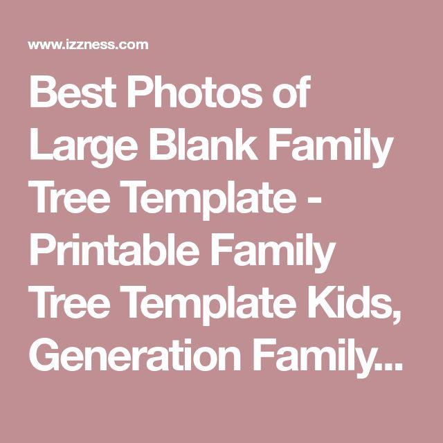 Best 25+ Printable family tree ideas on Pinterest Family tree - family tree template