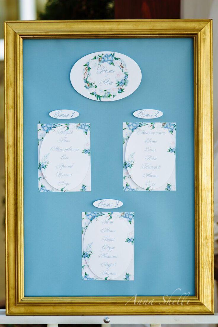План рассадки  Голубой план рассадки  Голубая свадьба  Организация свадьбы  Рассадка гостей  Рассадочная карточка  Именная рассадка  Рассадка на свадьбу  Оформление свадьбы от Anna Shelli