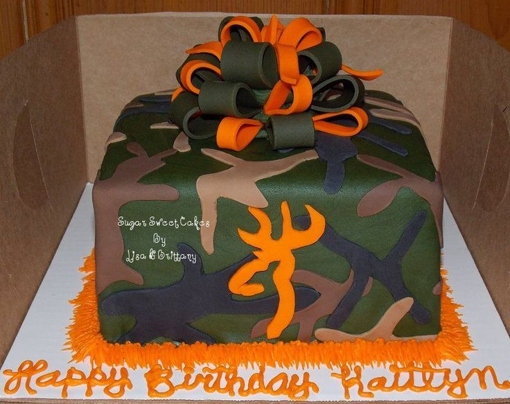 13 best Cakes images on Pinterest Camo cakes Birthday ideas and