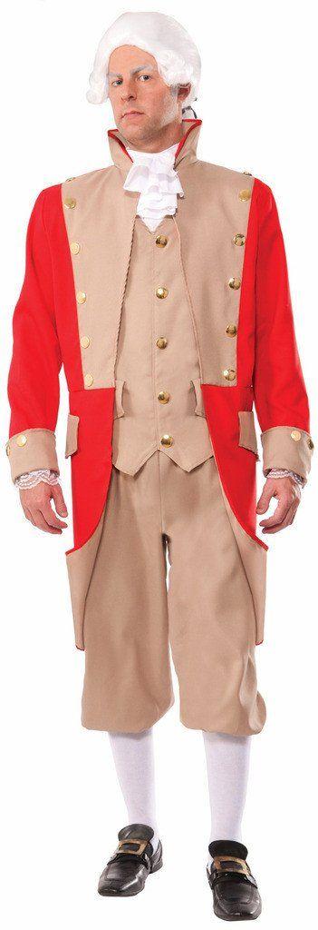British Red Coat Adult Costume One-Size