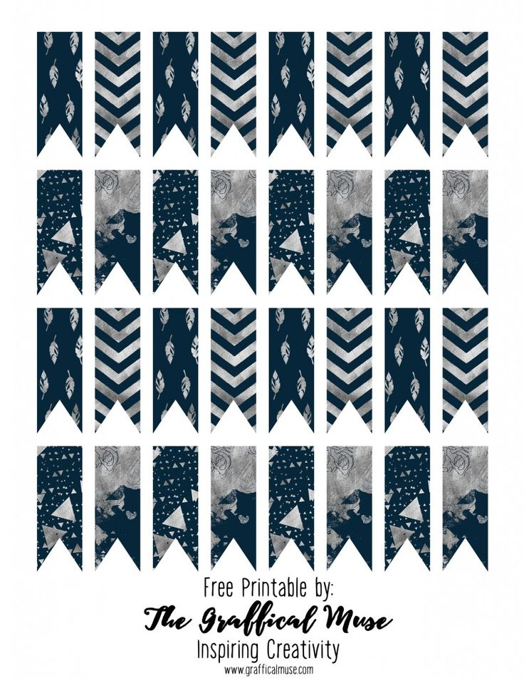Free Printable Planner Page Flags Hello, you can download these free printable planner page flags in navy and silver by clicking the image below. Print the PDF on a sheet of 8.5×11 label paper or sticker paper. Take care! Related Posts:Free Printable Blog Planner Page for GoalsFree Printable Goal Setting Worksheet – PlannerFree Printable Labels …