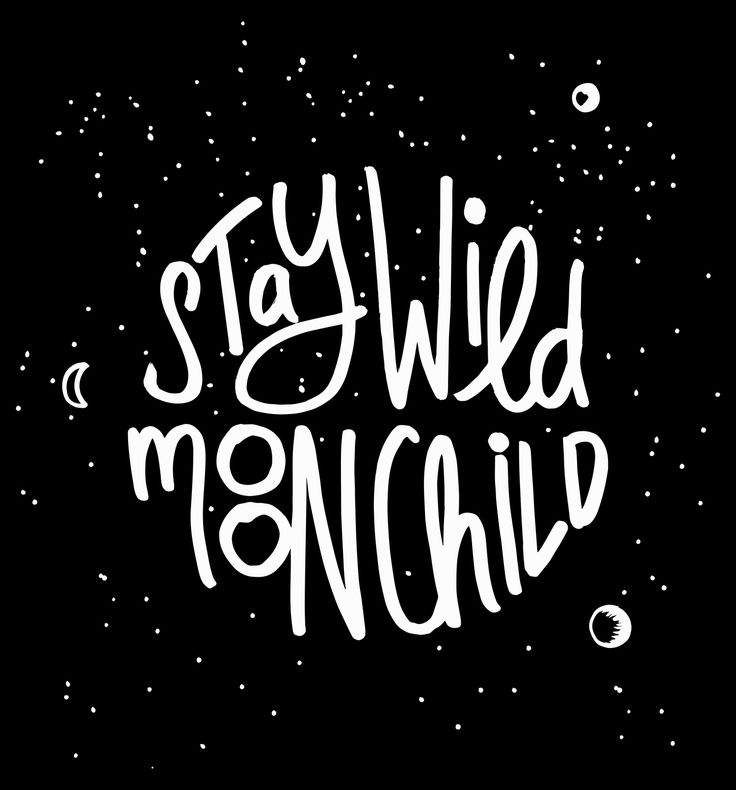 Stay wild moon child – Personal project                                                                                                                                                                                 More