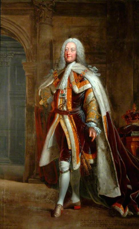 """King George II"", Joseph Highmore, 1755; Mansion House and Guildhall MHCPA.1755.2"