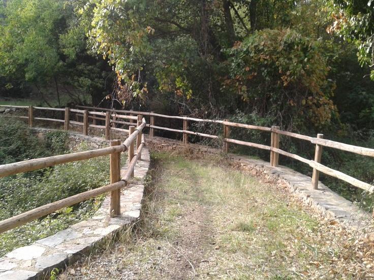 Puente en la Ruta de los Ingleses, entre Casas de Millán y Romangordo, (Campo Arañuelo)