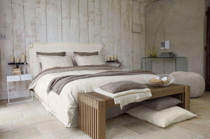 Les 25 meilleures id es de la cat gorie bancs t te de lit sur pinterest double banc de lit - Tete de lit zen ...