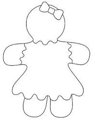 Best 25 Gingerbread Man Template Ideas On Pinterest