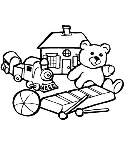 special needs coloring pages - photo#26