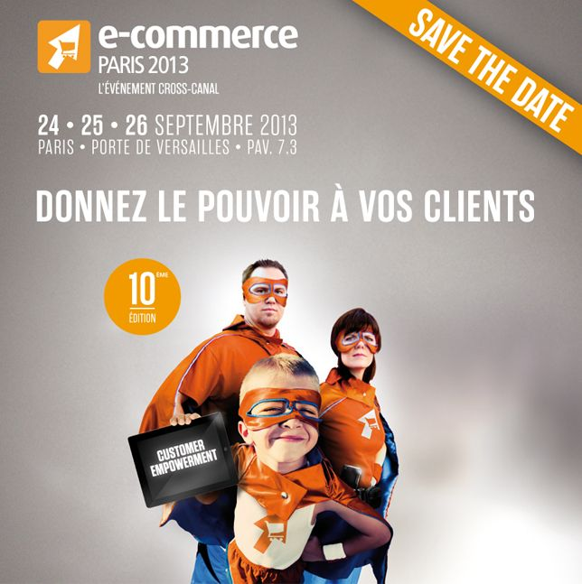 SAVE THE DATE: visuel de campagne 2013
