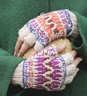 Ravelry: Shooting Star Mitts pattern by Sonja Launspach