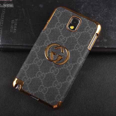 f091c72bfc9 Gucci Galaxy Note 3 Case Designer Leather Cover Black  NoteCase-0126  -   23.80