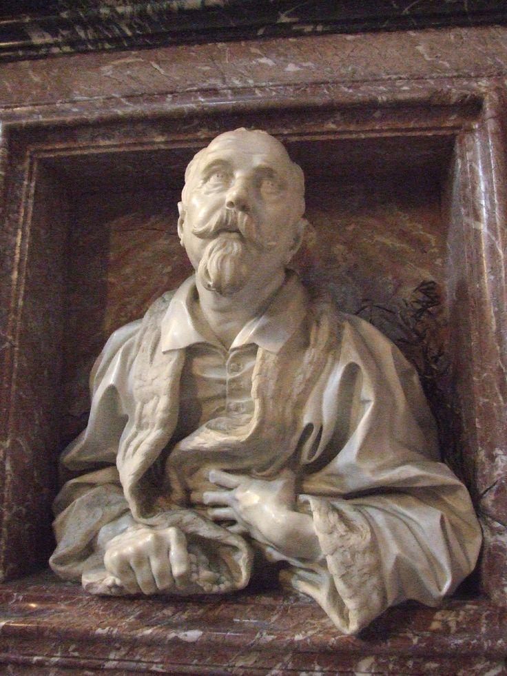 Busto Di Gabriele Fonseca Bernini 1668 1675 San