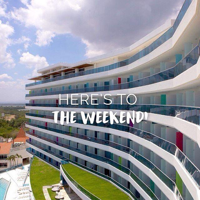 Here's to the weekend. We'll be waiting for you!   www.hotellasamericas.com.co  #MondayMotivation #Cartagena #ElHoteldeLasEstrellas #Lifestyle #ThePreferredLife #Caribbean