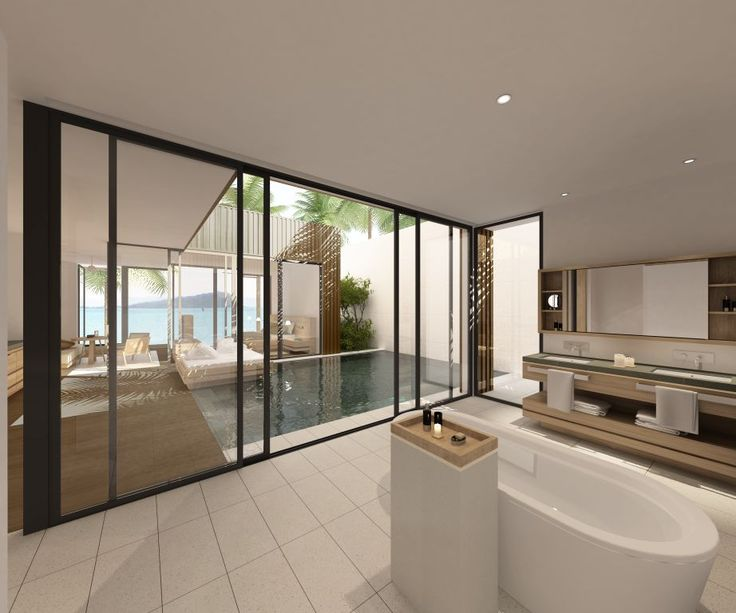 kerry hill architects hayman beach villas australia