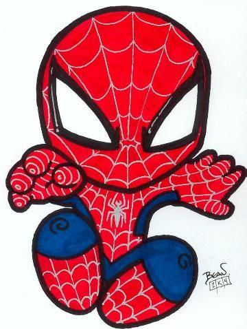 Chibi-Spider-Man 4. by hedbonstudios.deviantart.com on @deviantART