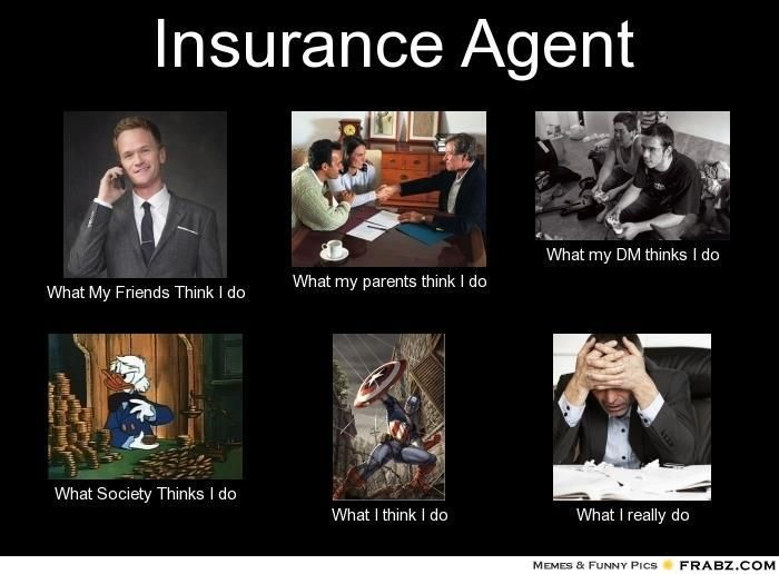 What an insurance agent really does!