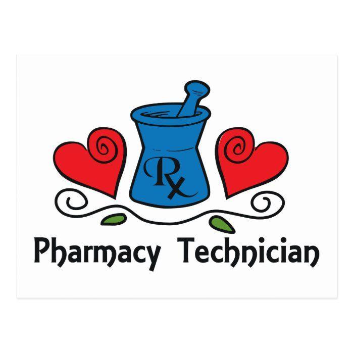 Pharmacy Technician Postcard Zazzle Com Pharmacy Technician Pharmacy Tech Pharmacy