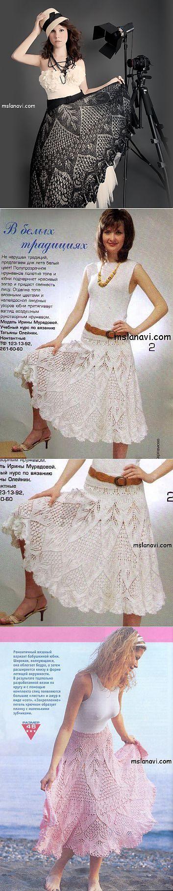 Красивейшая вязаная юбка и такое же нежное платье | Вяжем с Ланой | ВЯЗАНИЕ крючком | Постила