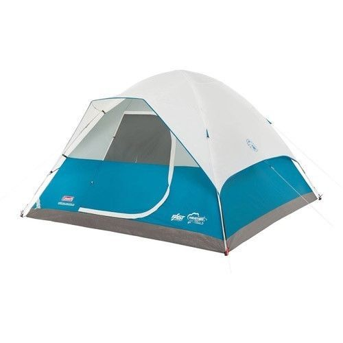 Family Camping Tent Outdoors Fishing Picnic Canopy 6 Person Man Dome Hiking Blue #FamilyCampingTent #Dome