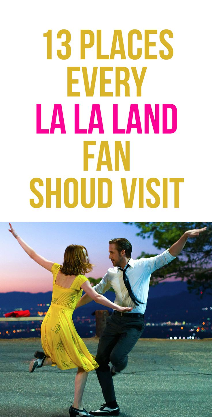 "Here are some of the locations featured in the film that should be on any ""La La Land""-inspired itinerary."