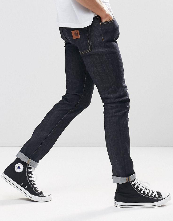 http://rubies.work/0873-ruby-pendant/ Image 4 of Carhartt WIP Slim Rebel Jeans