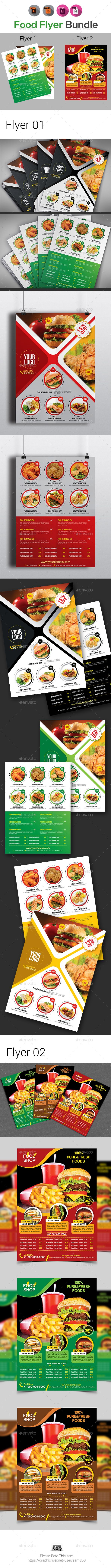 food flyers templates thevillas co
