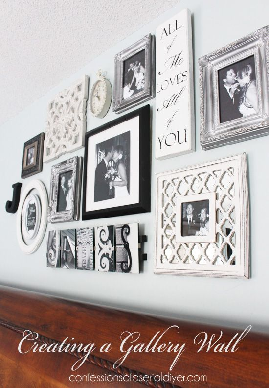 Nice Bedroom Gallery Wall: A Decorating Challenge