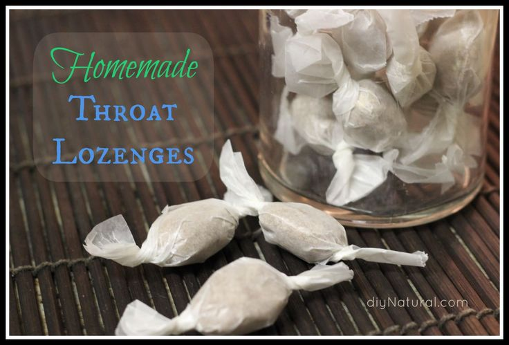 Make your own home remedies for cough and sore throat!