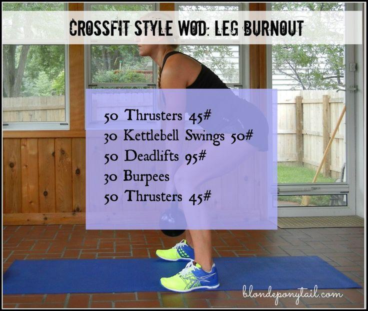 Sweat Wow Killer Kettlebell Workout: 25+ Best Ideas About Crossfit Leg Workout On Pinterest