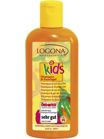 Logona Детский шампунь и гель для душа  — 902р. ---------------- Натуральный детский шампунь для волос и гель для тела нежно очищает и бережно ухаживает за кожей и волосами ребенка. В состав входят особенно ценные  натуральные ингредиенты для кожи ребенка. Экстракт календулы успокаивает кожу и предупреждает появление воспалений, наполняя при этом клетки кожи витаминами и микроэлементами, масло миндаля обеспечивает нежный уход и питание кожи ребенка, а волосы делает послушными и ухоженными…