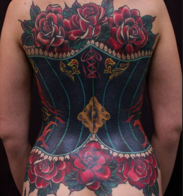 All Laced Up! Amazing Binding Corset Tattoos