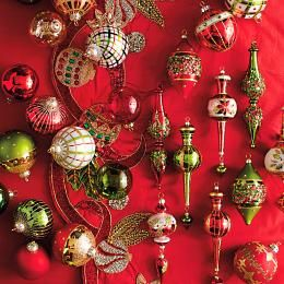 Having decorated the White House for 20 Christmases, Jim Marvin's style is inimitable. He designed this statement-making collection of artisanal,     hand-blown glass ornaments in four styles.                Jim Marvin designs                   Hand-blown glass ornaments                   Blend ornament styles for a majestic ensemble                   Bright color palette pairs masterfully with transitional or contemporary holiday decor