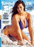 Ashley Graham Covers Sports Illustrated's Swimsuit Issue in the Coolest Colorblock Bikini