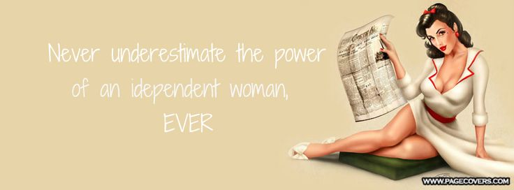 how to become an independent woman