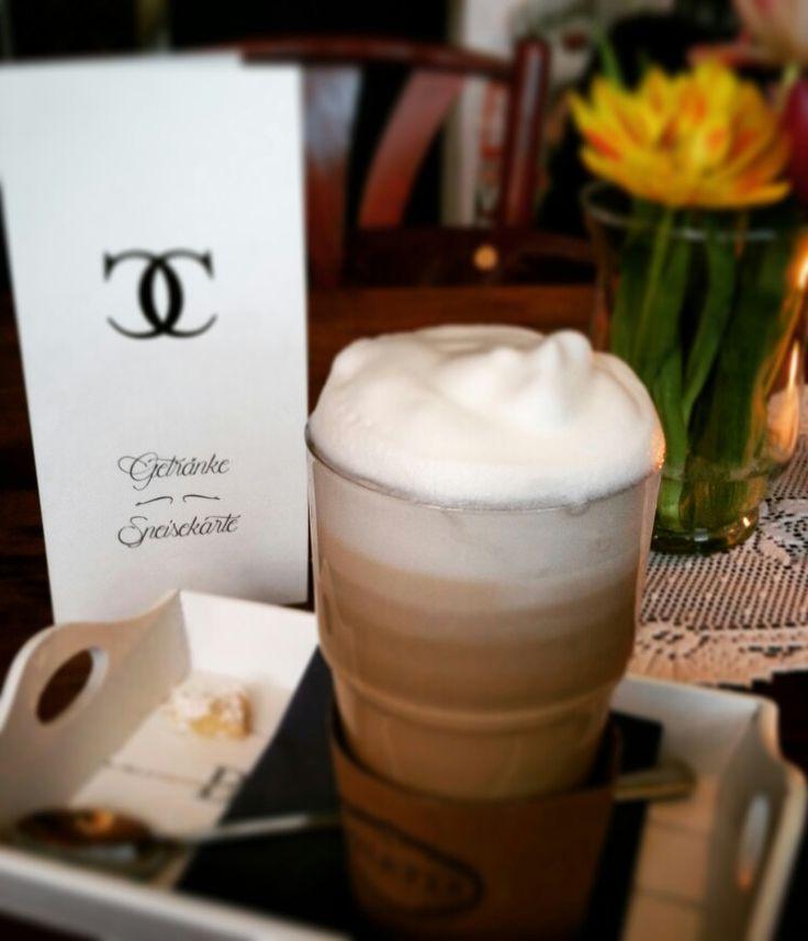 Vanillalatte Im Caf Colette In Aachen