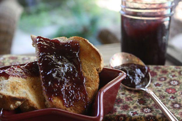 Whole Grape Jam by Sunchowders Emporia great recipe for grape preserves.