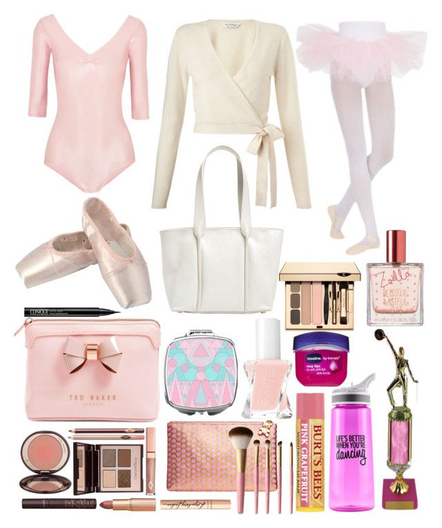 """""""dance competition essentials"""" by datboiunicorn on Polyvore featuring Ballet Beautiful, Miss Selfridge, Capezio Dance, Charlotte Tilbury, Ted Baker, Too Faced Cosmetics, Olympia, Jole Dance, Essie and Skagen"""