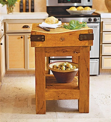 17 best images about butcher block on pinterest - Small butcher block island ...