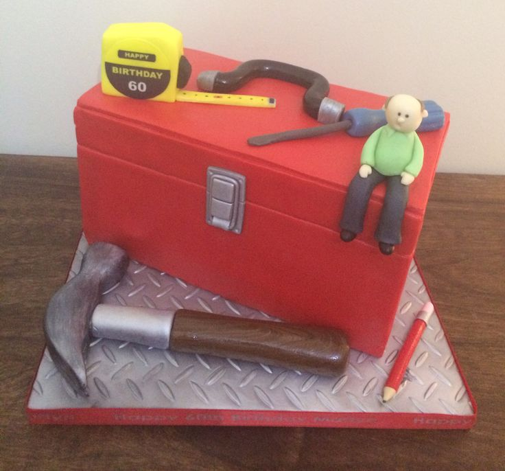Birthday+Cakes+-+Tool+box+cake+