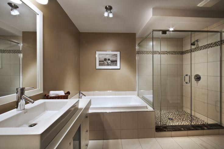 Salle de bain - maison jumelée  Habitations Laurendeau
